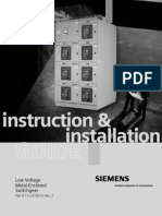 WL LV Swgr Installation Manual - LVBR-02000-0709 - JAW Rev
