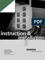 WL LV Swgr Installation Manual - LVBR-02000-0709 - JAW Rev