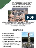 PROCESOS INDUSTRIALES SOSTENIBLES, INNOVACIÓN, SEGURIDAD Y MINIMIZACIÓN DE RESIDUOS.pdf