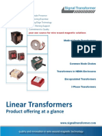 Linear Transformers at a Glance