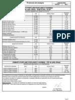 Dosificacion cemento puzolanico