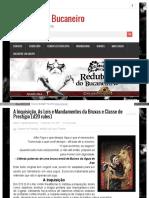 D20 - A Inquisição, As Leis e Mandamentos Da Bruxas e Classe de Prestígio