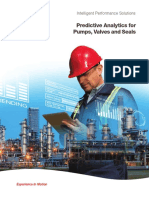 Predective Analytics for Pumps, Valves and Seals