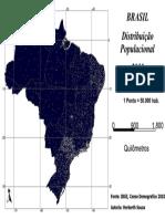 AULA 20161007 - 04 - Brasil - População 2010 (Densidade de Pontos)