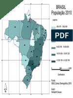 AULA 20161019 - 05 - Brasil - População 2010 (Coroplético Intervalos)
