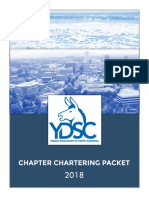 ydsc chartering 2018