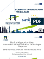 Market opportunites for ICT SMEs in South East Asia
