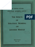 USSBS Report 14, Morale Division, The Effects of Strategic Bombing on Japanese Morale