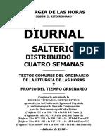 Diurnal Salterio.