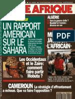 Zaïre - Couverture Jeune Afrique (n°1624)