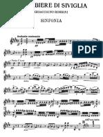Rossini Barbiere Di Siviglia Sinfonia Violin1