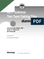 9781119225416 Science Review TenTestTakingTips
