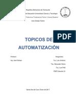 Topicos de Automatizacion