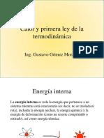 Calor y Primera Ley de La Termodinámica.ppt TERMODINAMICA