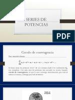 Calculo Series de Potencias Exposicion