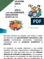 4. Educaciòn Inclusiva y Las Nee- Patty
