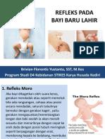 Refleks Pada Bayi Baru Lahir (BBL)
