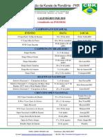 Calendário FKR 2018 - 07-02-2018