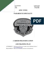 Программа Подготовки СпН, ВВС США, ПСО, Б.