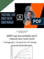 GMAT Ninja Becoming Your Own GMAT Tutor 2.14.18
