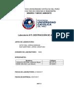 Informe 5 Medio Ambiente