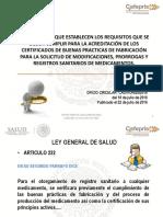 2. Lineamientos CBPF (Licencias Sanitarias)