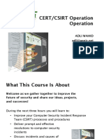 03-Csirt Operation First