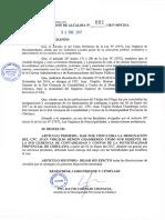 Cargo Contabilidad y Costos en Municipalidad de Chiclayo