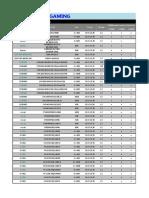 Tuf z370-Pro Gaming Memory Qvl Report 20170927