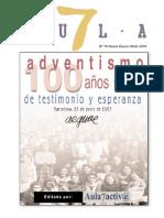 100 años de Adventismo