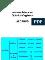 4. 1 Nomenclatura Organica Alcanos