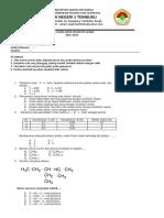 Soal UAS Kimia Farmasi Kls XI SMtr 2