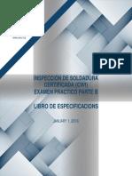 AWS Inspeccion de Soldadura Certificada (Español)