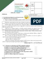 Evaluare in Educatie La Limba Romana Etapa a III A