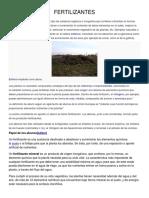 Fertilizantes Informacion