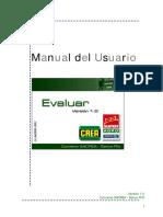 Manual Evaluar