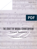 The Craft of Modal Counterpoint - Thomas Benjamin.pdf