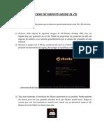 Ejecucion de Ubuntu Desde El CD
