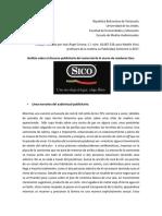 Anásilis publicitario de Uno no elige el lugar. Elige Sisco .pdf