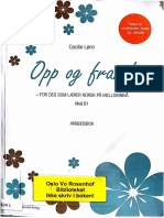 opp og fram,  2nd utgave ,ceviele lønn, B1, arbeidbok