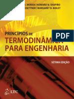 Princípios de Termodinâmica Para Engenharia, 7ª Edição - MORAN, Michael J.; SHAPIRO, Howard N.; BOETTNER, Daisie D.; BAILEY, Margaret B.