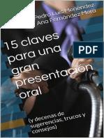 15 Claves Para Dar Una Presentación Oral