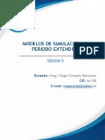 Modelos de Simulación en Periodo Extendido