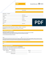 IEP Admission Form