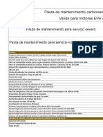 Pauta de Mantenimiento Integrada EPA 2004