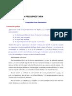 FAQ Tema 02 La Restricción Presupuestaria