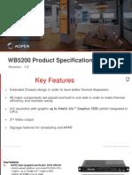 WB5200 Sales Kit V1.0