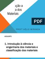 Introducao Ciência Dos Materiais