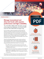 Manage transactional and data mart loads with superior performance and high availability - Summary