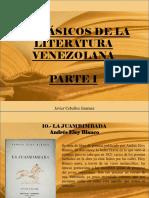Javier Ceballos Jiménez - 10 Clásicos de La Literatura Venezolana, Parte I